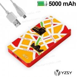 Batería Externa Micro-Usb Power Bank 5000 MAh City Valencia YZSY