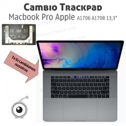 Cambio Trackpad Macbook Pro Apple A1706 A1708 13,3""