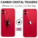 Reparación cristal trasero iPhone 11 / 11 Pro / 11 Pro Max