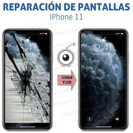 Reparación Pantalla iPhone 11