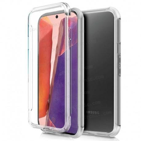 Funda Silicona 3D Samsung A515 Galaxy A51 (Transparente Frontal + Trasera)