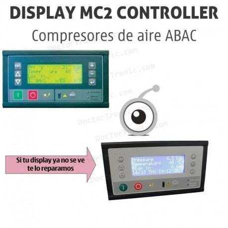 Reparación display panel de control Compresor de aire ABAC - GENESIS