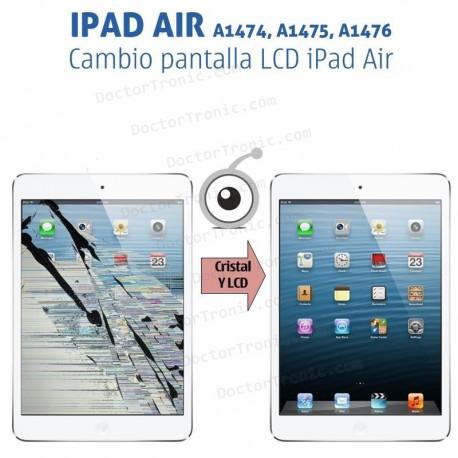 Reparación pantalla LCD iPad Air A1474, A1475, A1476