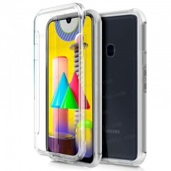 Funda Silicona 3D Samsung M315 Galaxy M31 (Transparente Frontal + Trasera)