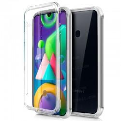 Funda Silicona 3D Samsung M215 Galaxy M21 (Transparente Frontal + Trasera)