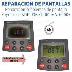 Reparación problemas de imagen Raymarine ST4000+ ST5000+ ST6000+