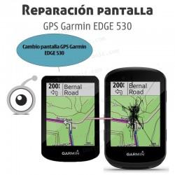 Cambio pantalla GPS Garmin EDGE 530