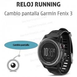 Reparación pantalla GPS Garmin Fenix 3