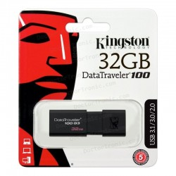 Pen Drive USB 32GB KINGSTON USB3.1 DATA TRAVELER 100