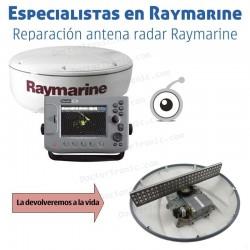 Reparación antena radar Raymarine