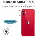 Cambio lente cámara iPhone 11