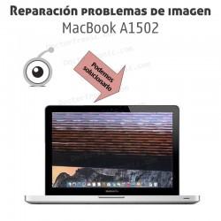 Reparación problemas de imagen MacBook A1502
