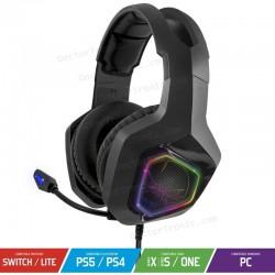 Auriculares Stereo Gaming con Micrófono Spirit of Gamer Elite-H50/ Jack 3.5