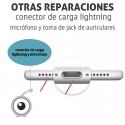 Reparación iPhone X Conector de carga lightning