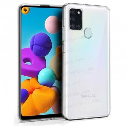 Funda Silicona Samsung A217 Galaxy A21s (colores)