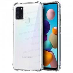 Carcasa Samsung A217 Galaxy A21s AntiShock Transparente