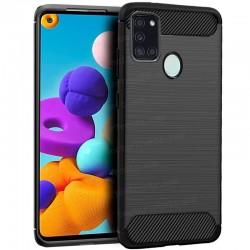 Carcasa Samsung A217 Galaxy A21s Carbón Negro