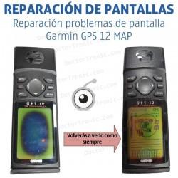 Reparación pantalla Garmin GPS 12 MAP