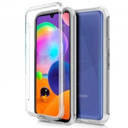 Funda Silicona 3D Samsung A31 Galaxy A315 (Transparente Frontal + Trasera)