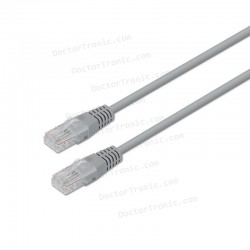 Cable de Red RJ45 CAT6 UTP Cat.6 10/100/1000 Gris (3m)