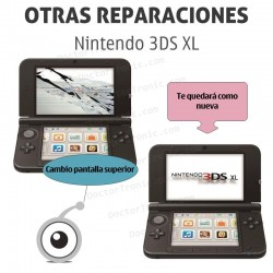 Reparación pantalla inferior 3DS XL