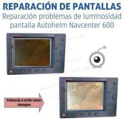 Reparación problemas de pantalla Autohelm Navcenter 600