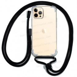 Carcasa IPhone 12 Pro Max Cordón Negro