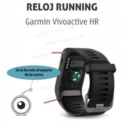Reparación Garmin vivoactive hr cambio de caja