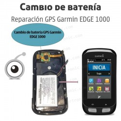 Cambio batería GPS Garmin EDGE 1000