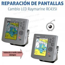 Cambio LCD Raymarine RC435i