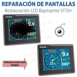 Reparación LCD Raymarine ST70+