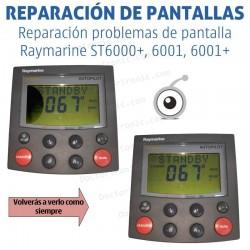 Cambio LCD Raymarine ST6000+, 6001, 6001+