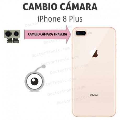 Cambio cámara trasera iPhone 8 Plus A1864, A1897, A1898