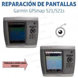 Reparación pantalla Garmin GPS MAP 521/521s