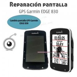 Cambio pantalla GPS Garmin EDGE 830