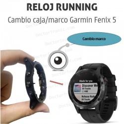 Reparación caja/marco GPS Garmin Fenix 5