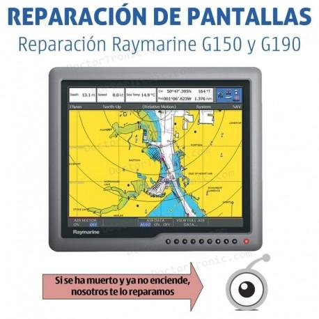 Reparación Raymarine G150 - G190