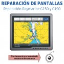 Reparación Raymarine G120 G150 G170 G190