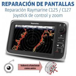 Reparación Raymarine C125 / C127 joystick de control y zoom