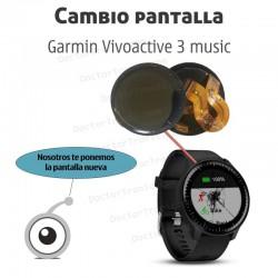Cambio pantalla Garmin Vivoactive 3 music