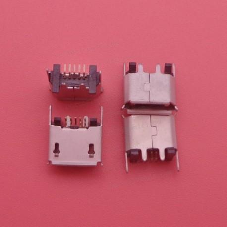 Conector de carga micro USB vertical Garmin ZX80-B-5P Vertical SMT 5P