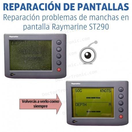 Reparación problemas de imagen Raymarine ST290