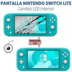 Reparación pantalla Nintendo Switch Lite