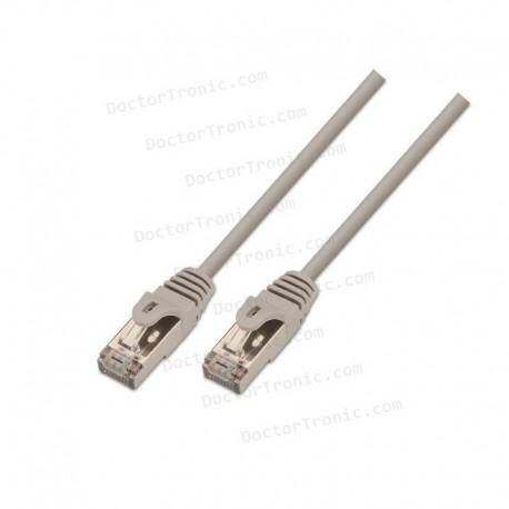 Cable de Red RJ45 CAT6 SSTP Cat.6 10/100/1000 Gris (15m)