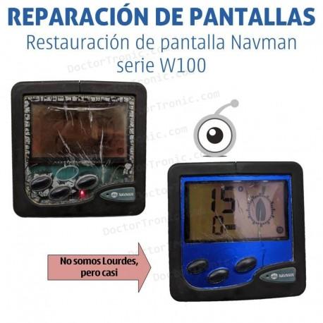 Reparación problemas de pantalla Navman serie W100