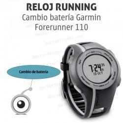 Cambio batería GPS Garmin Forerunner 110