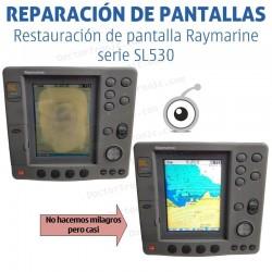 Reparación problemas de imagen Raymarine SL530