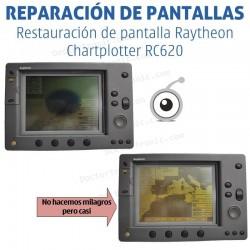 Reparación problemas de imagen Raytheon Chartplotter RC620