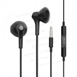 Auriculares 3,5 Mm COOL Bora Stereo Con Micro Negro