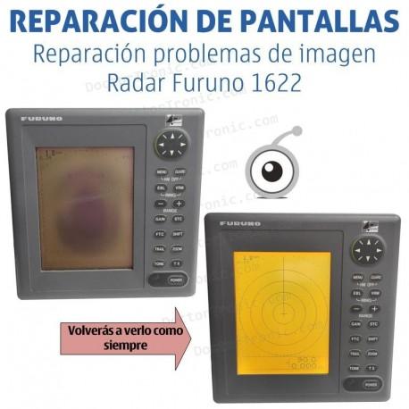 Reparación problemas de imagen Radar Furuno 1622